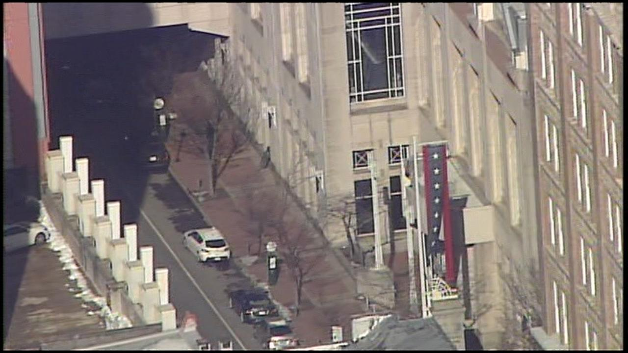 RAW VIDEO: Police investigate activity in Center City