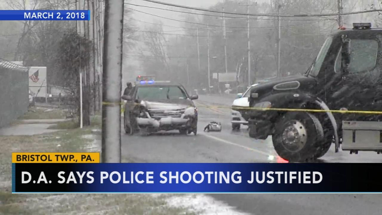 DA says police shooting in Bristol Township justified