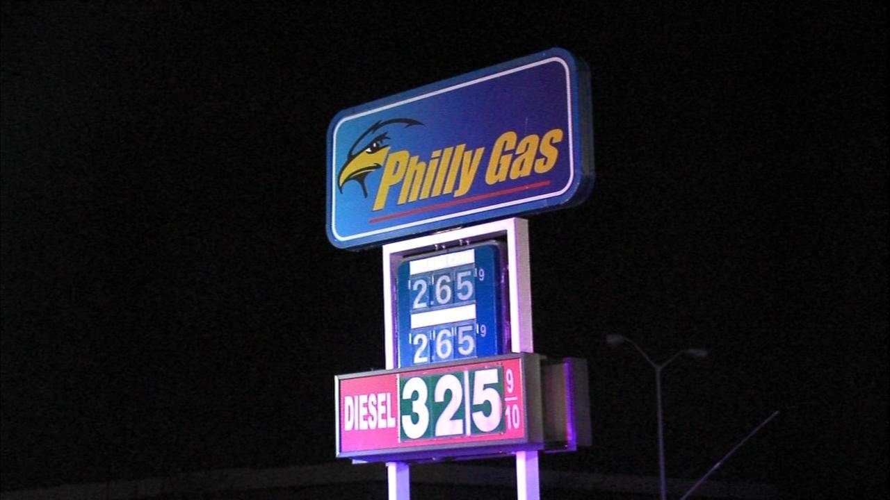 Underground fire sparked at gas station in Northeast Philadelphia