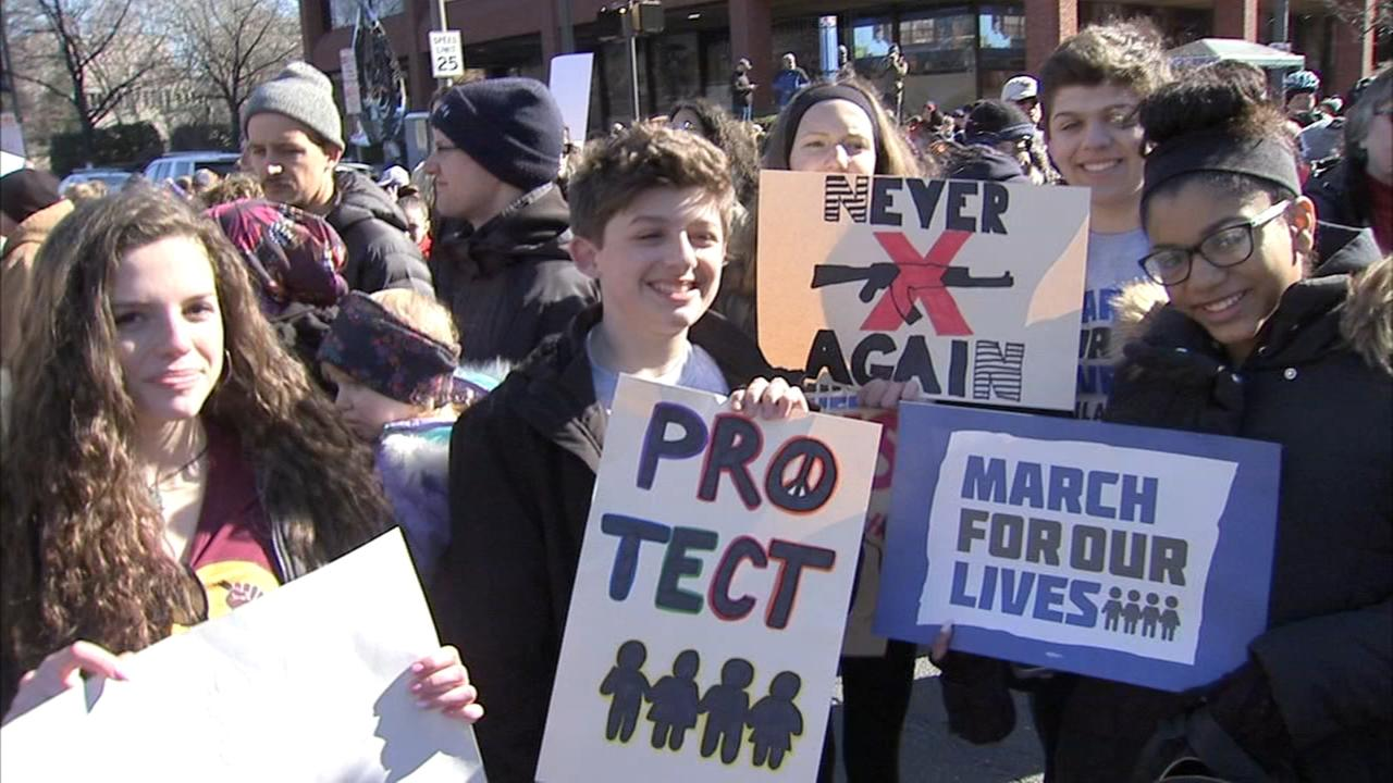 March for Our Lives in Philly draws thousands of supporters