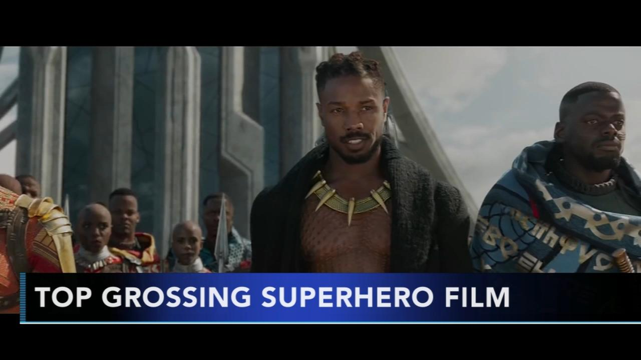 Black Panther becomes top grossing supehero film