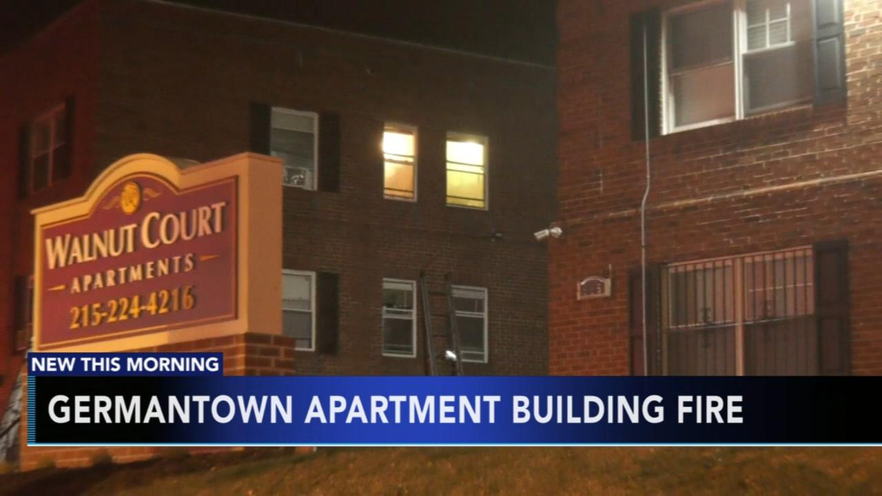 Fire at Germantown apartment building