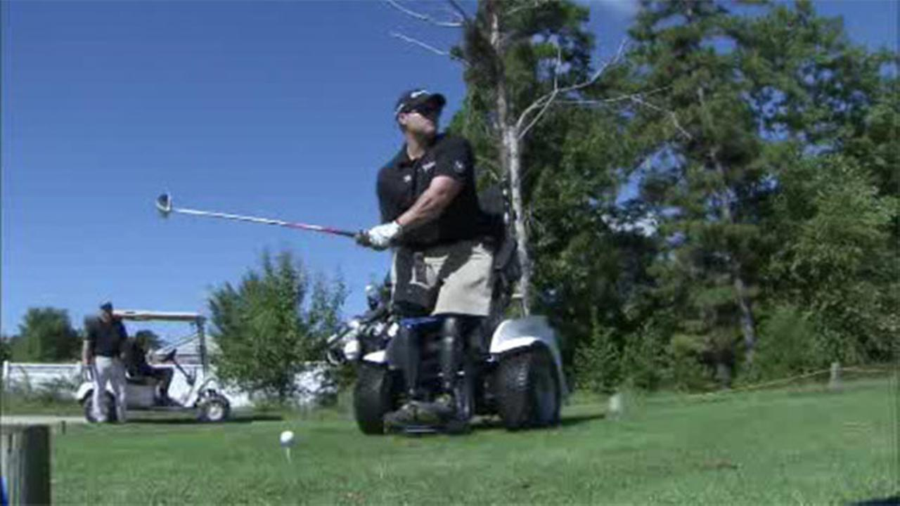 Helping disabled veterans through golf