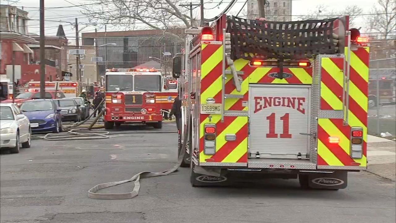 1 injured in Camden fire