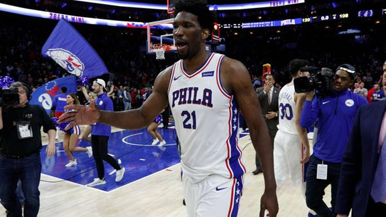 Philadelphia 76ers clinch first playoff berth since 2012
