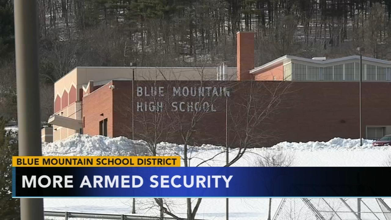 More armed security following reports of students given rocks