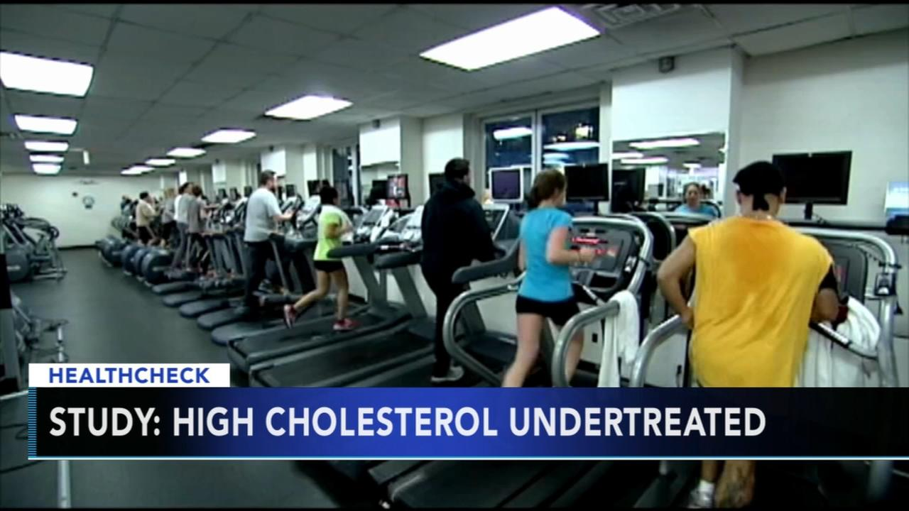 Study: High cholesterol in young adults undertreated