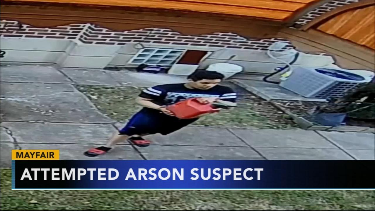 Police seek attempted arson suspect