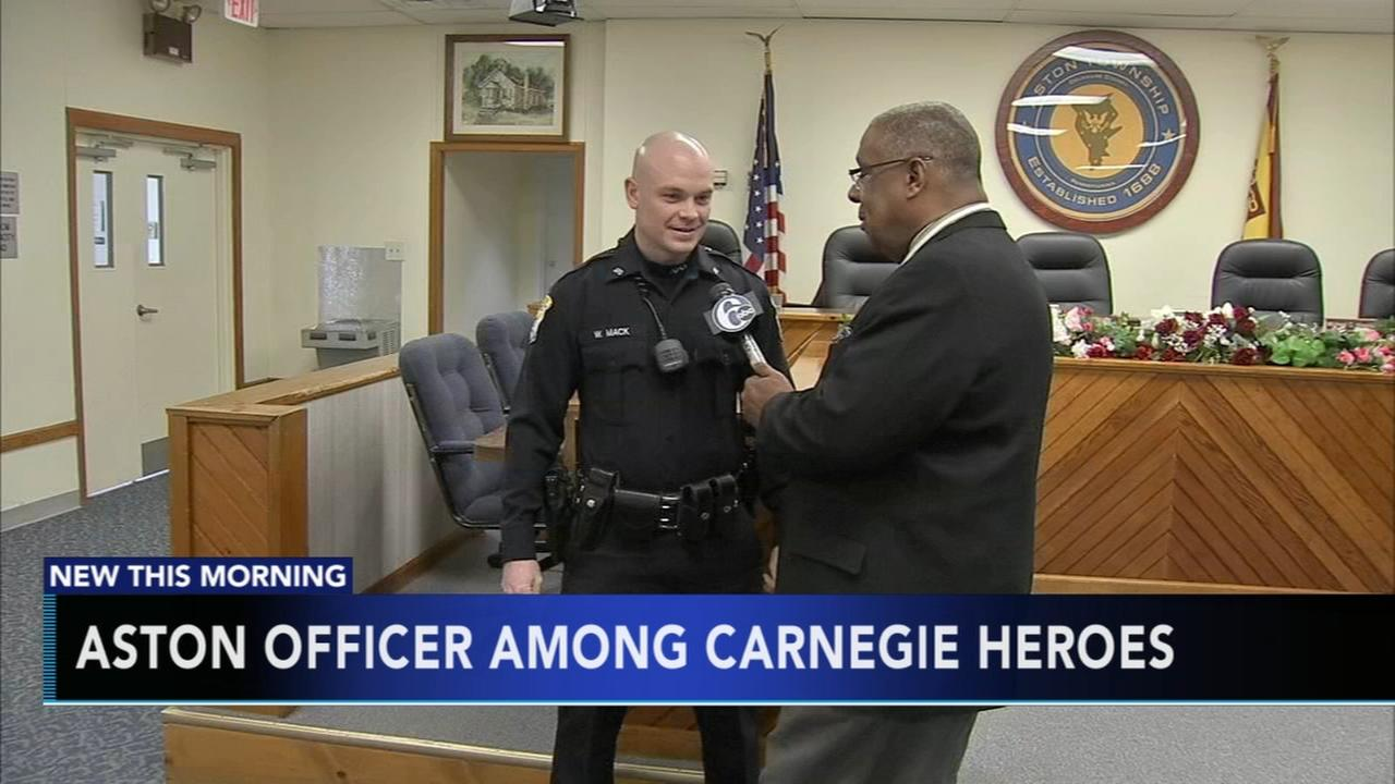Aston officer among Carnegie Heroes