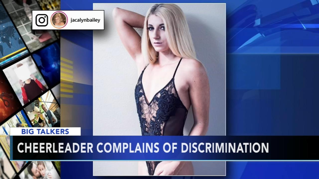 NFL cheerleader complains of discrimination