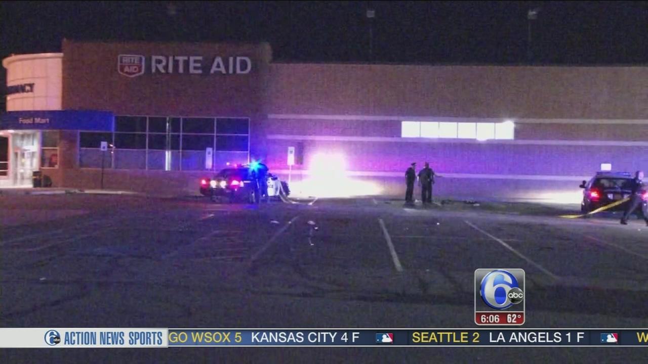 VIDEO: Shooting outside Rite Aid