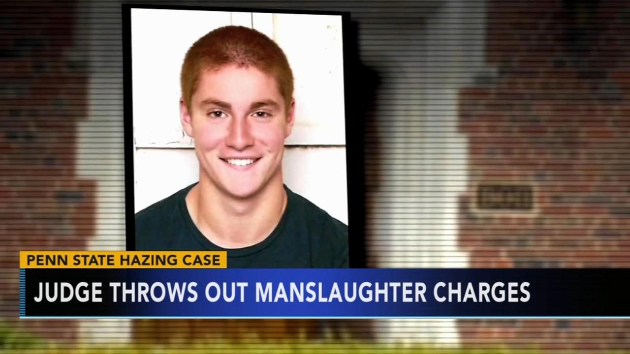 Judge throws out manslaughter charges
