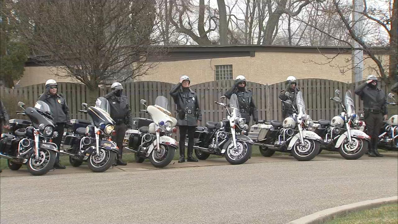 Law enforcement deliver Easter meals to families of fallen officers