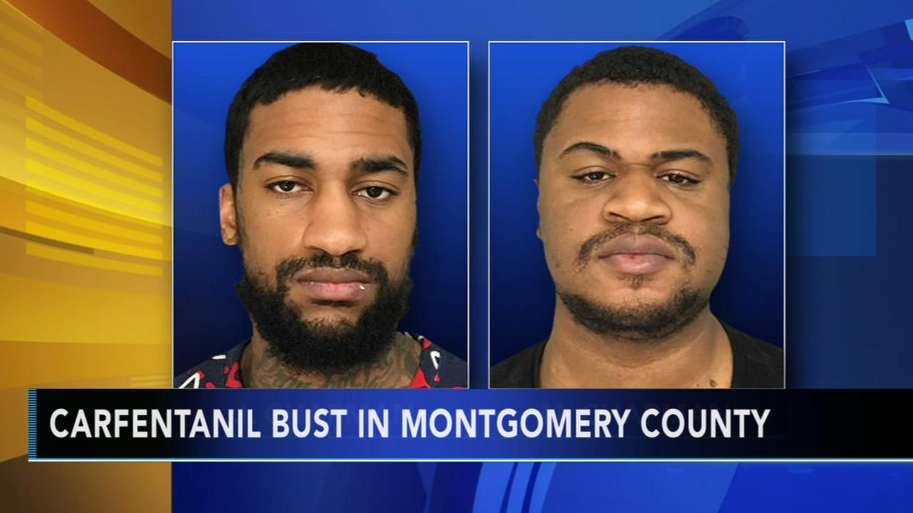 Carfentanil bust in Montgomery County