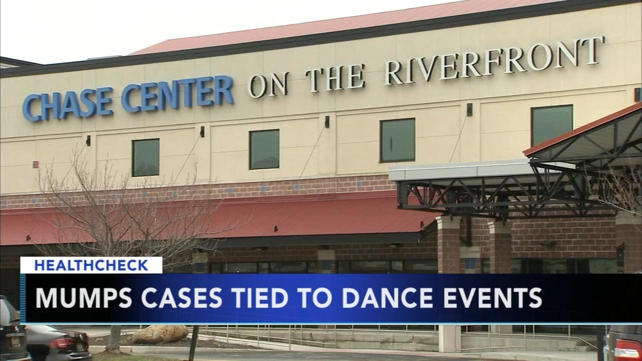 Delaware mumps cases tied to dance events