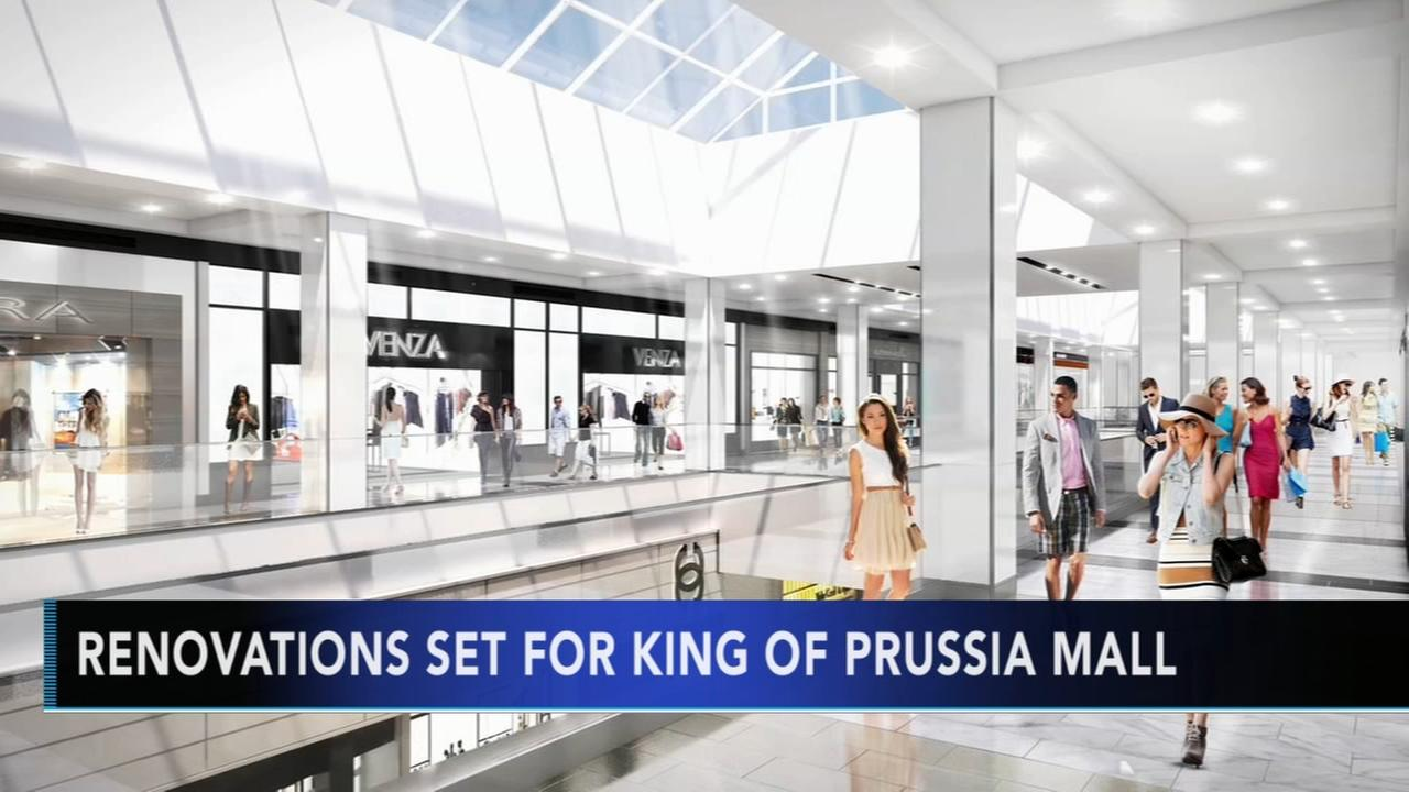 Renovations set for King of Prussia Mall