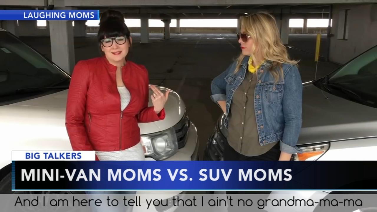 Minivan Moms take on SUV Mommas in parody video