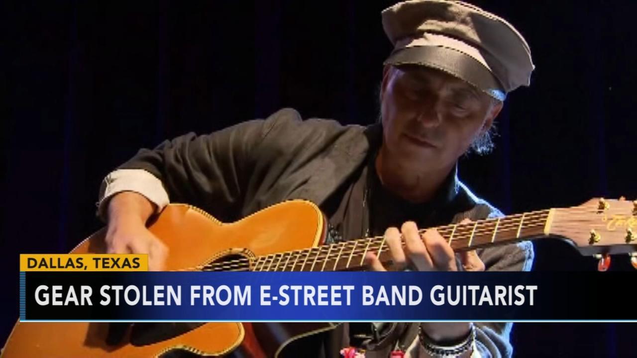Instruments stolen from E Street Band guitarist Nils Lofgren