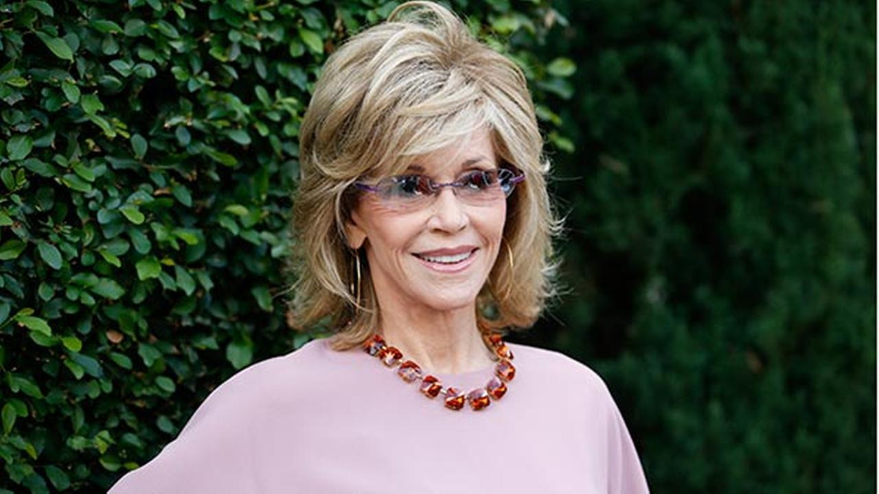 Jane Fonda gets personal at Rape Foundation brunch