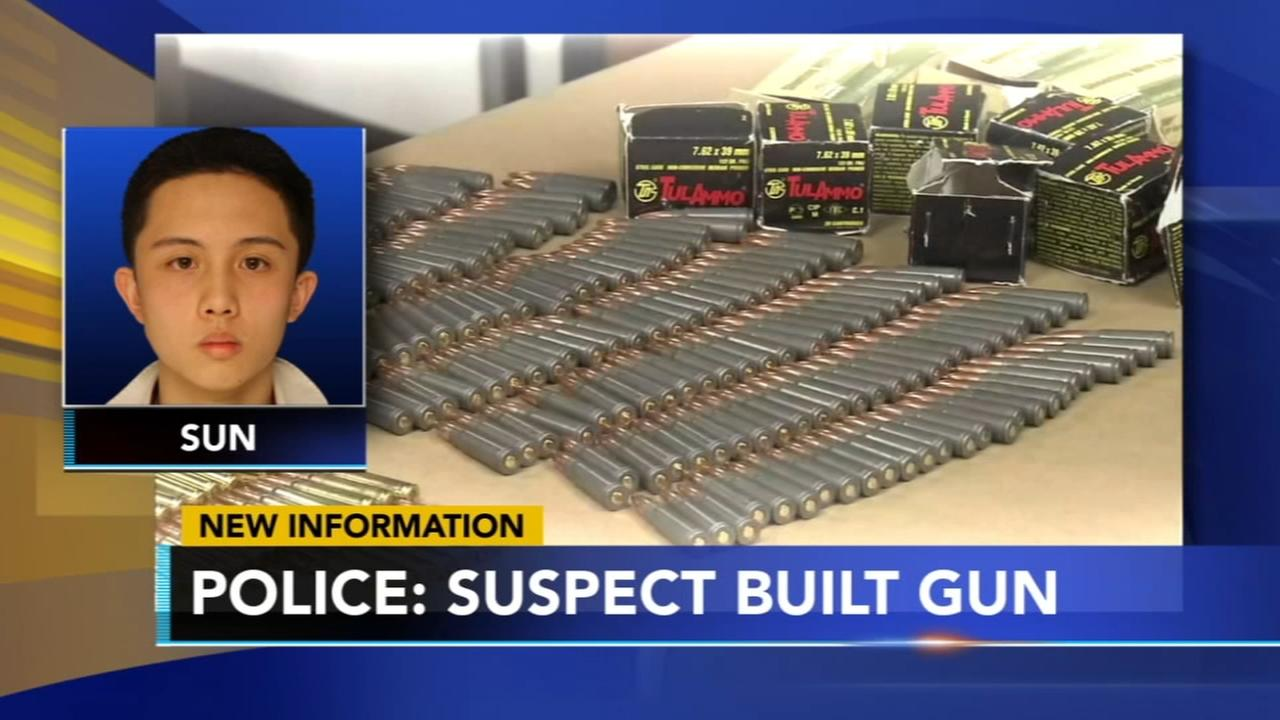 Police: Exchange student built gun from parts bought online