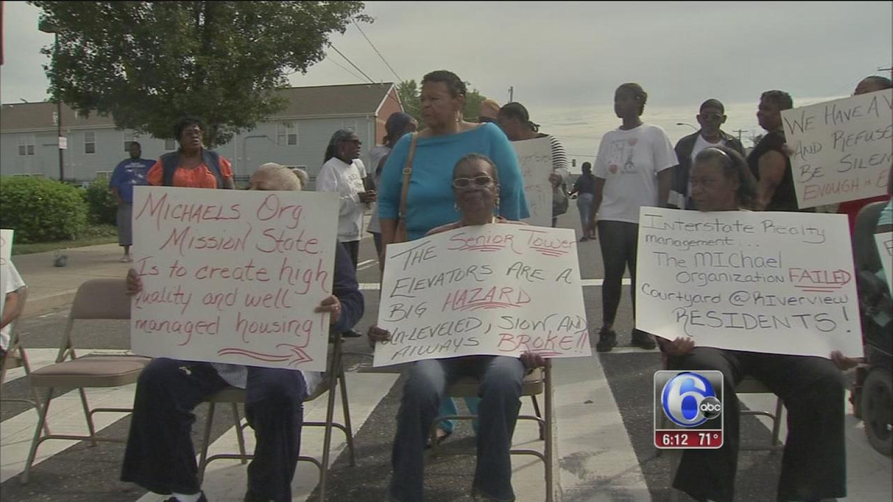 VIDEO: Apartment protests