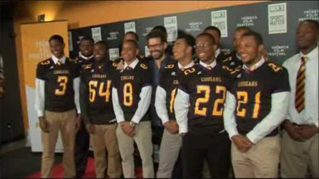 Martin Luther King High School football documentary premieres in NYC