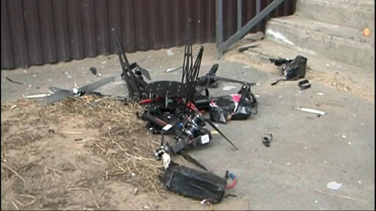 Drone crashes in Russia while delivering mail