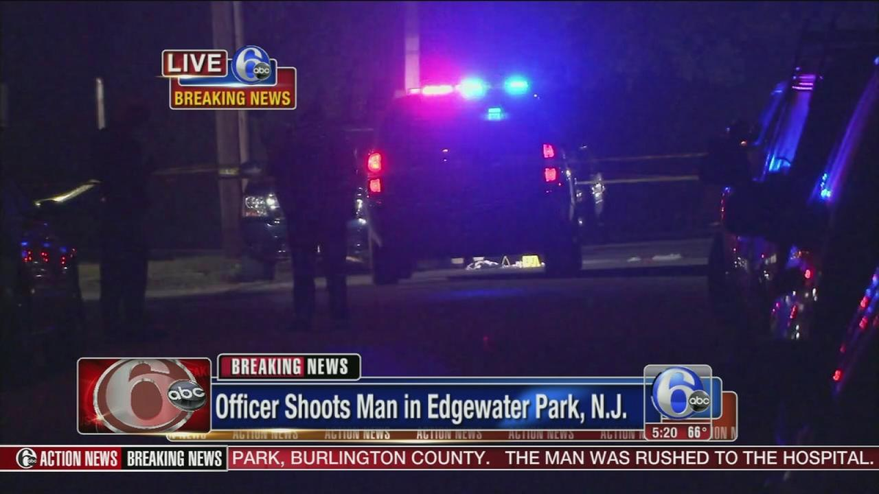 VIDEO: Officer shoots man in Edgewater Park