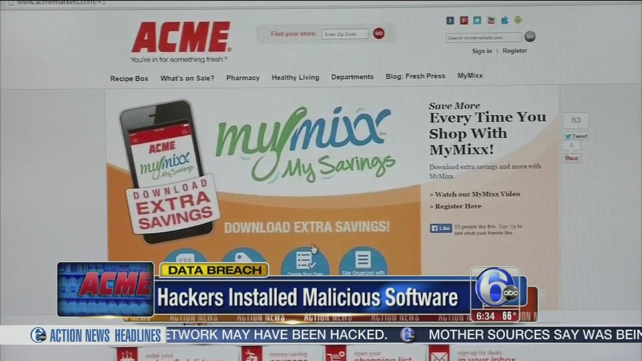 VIDEO: Data breach at ACME markets