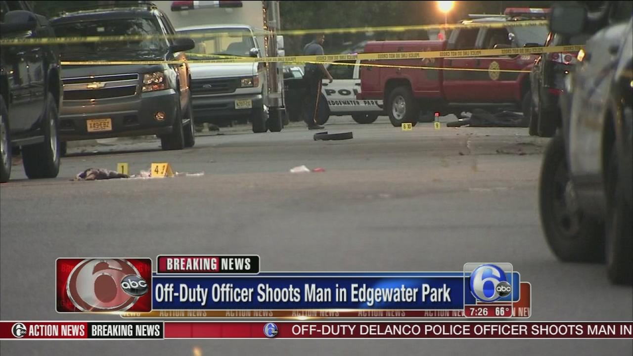 VIDEO: Off-duty officer shoots man in Burlco