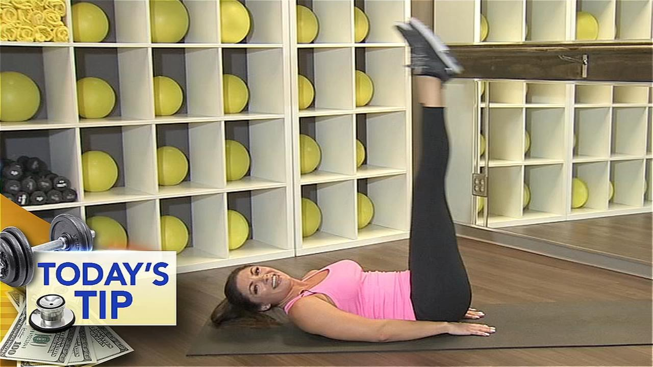 Work those abs! - Todays Tip