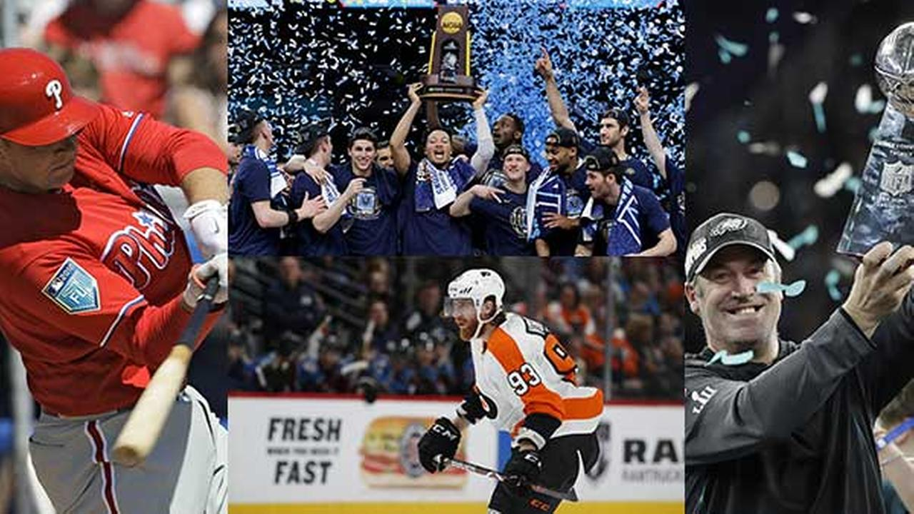 'Nova, Phils, Flyers: Sports-filled day in Philly
