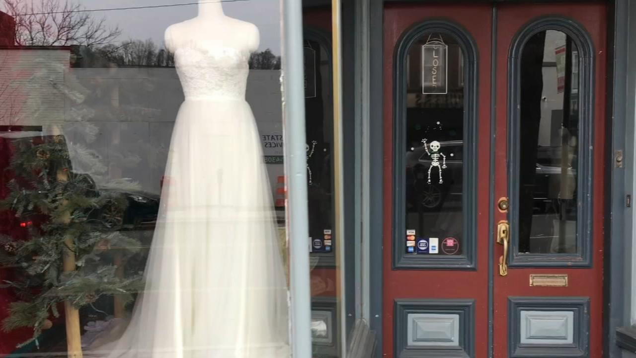 Brides-to-be left without gowns after shop closes in Philly
