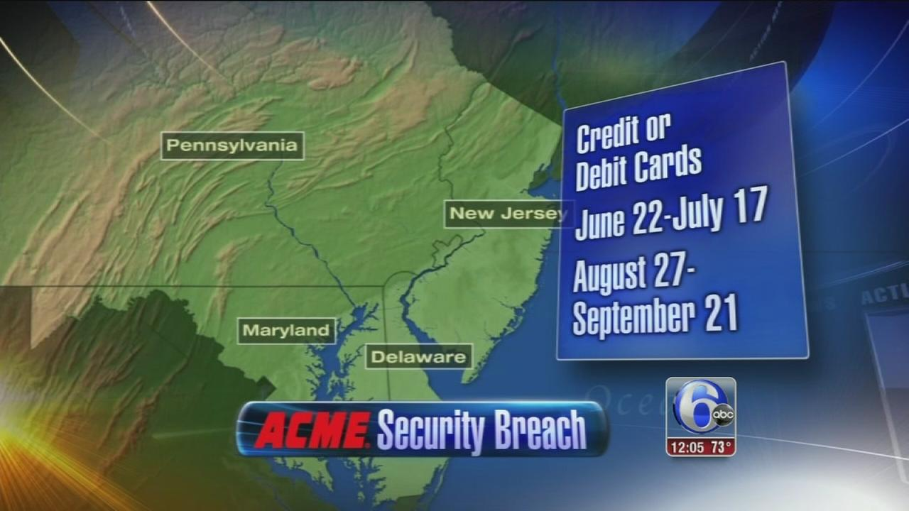 VIDEO: Data breach at ACME markets