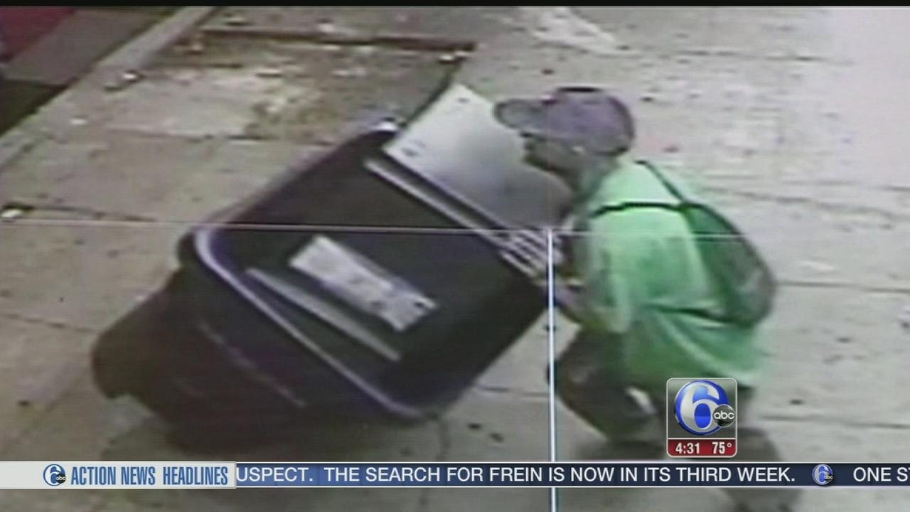 VIDEO: Failed ATM theft