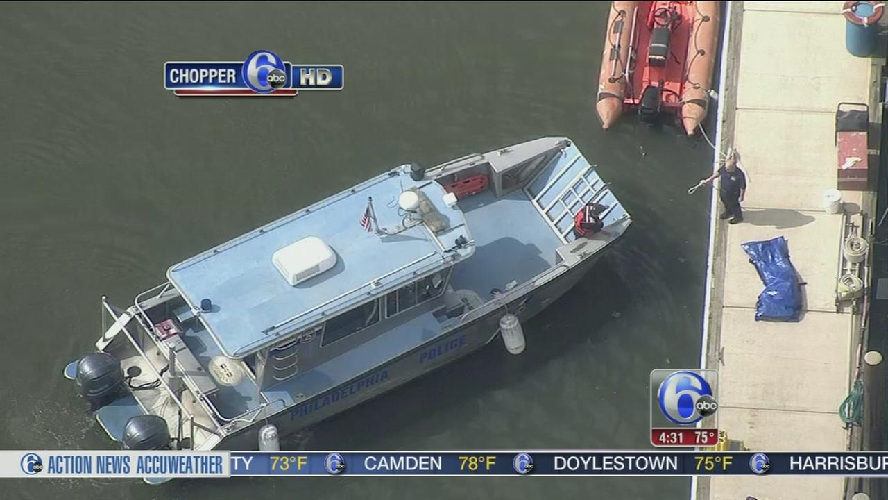 VIDEO: Body found in Delaware River