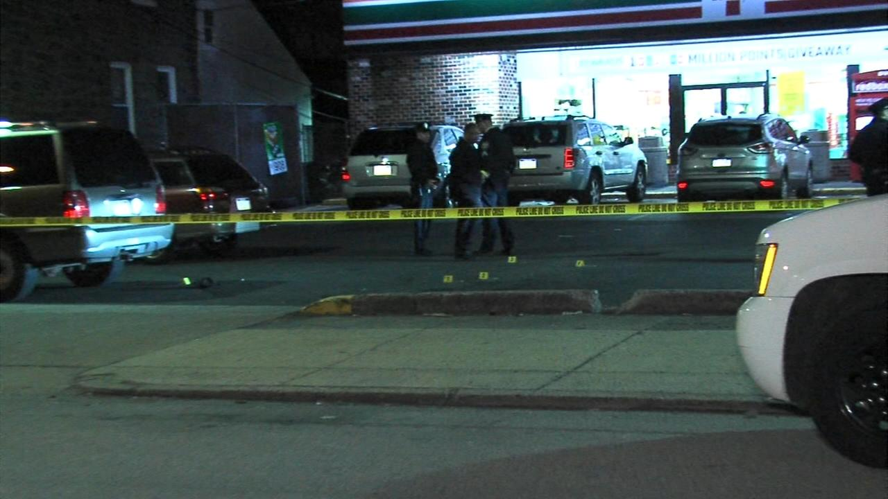 Shooting outside 7-eleven store