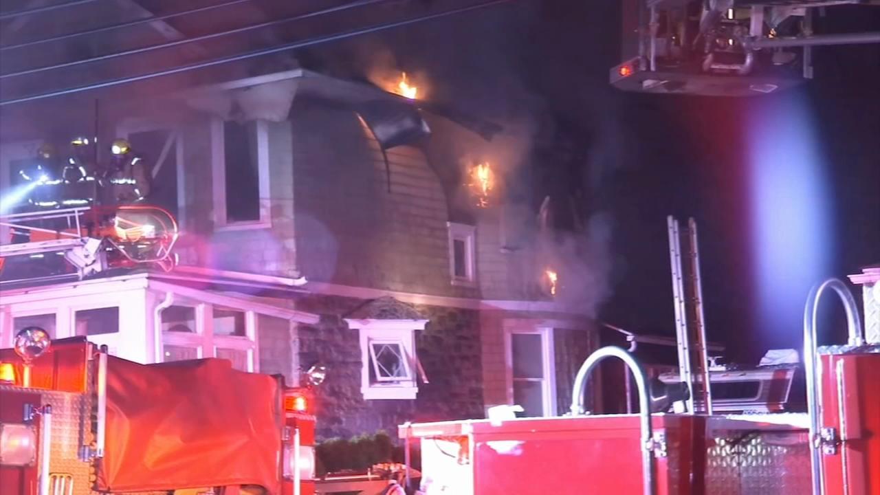 House fire in Glenolden