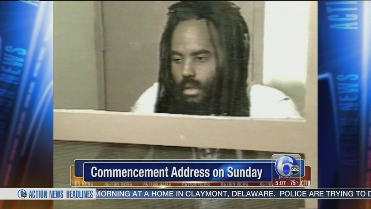 VIDEO: Mumia Abu Jamal to deliver commencement address
