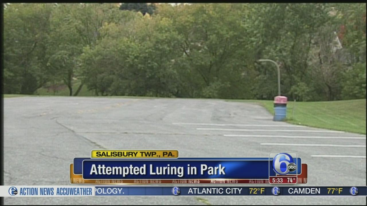 VIDEO: Attempted luring park