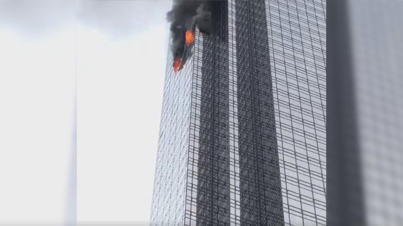 Resident dies, six firefighters injured in Trump Tower fire