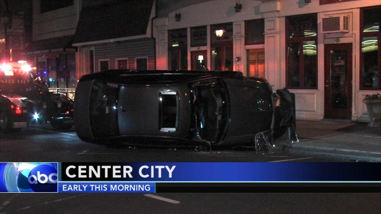 Driver injured in Center City crash