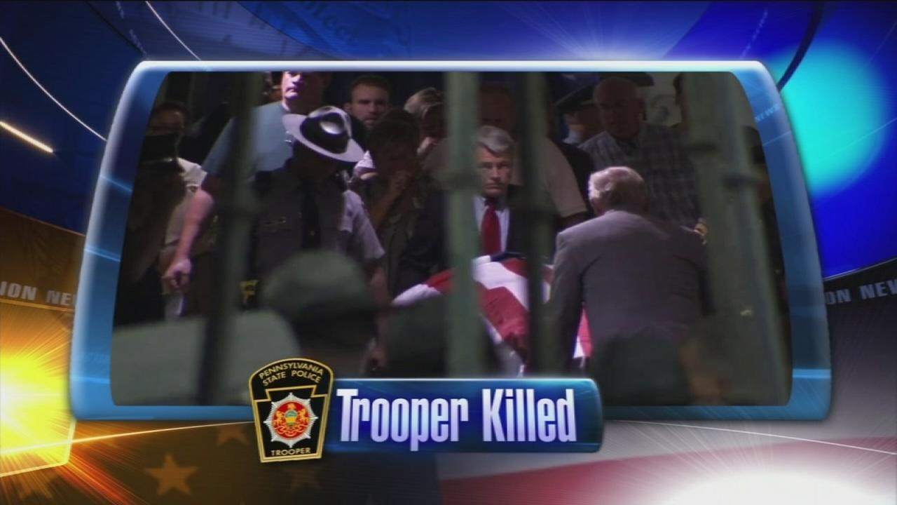 VIDEO: Trooper killed