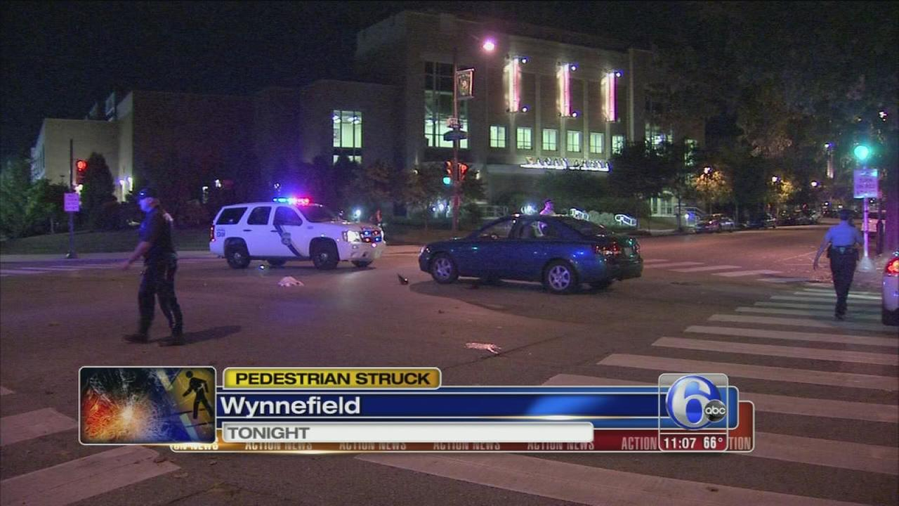 VIDEO: Man struck near St. Josephs University