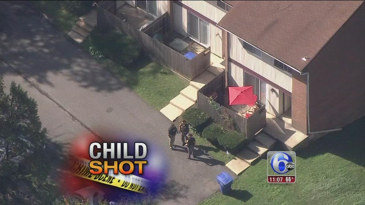 VIDEO: 2-year-old shot