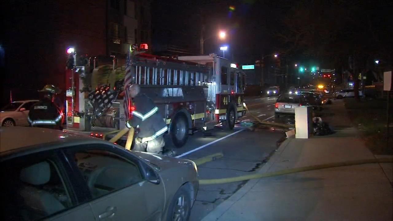 Man injured in West Phila. fire