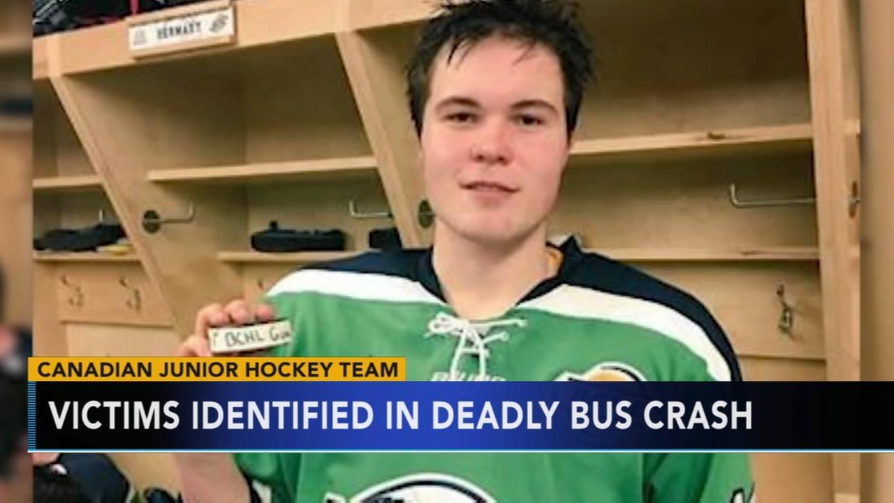 Son of fmr. Flyer killed in bus crash