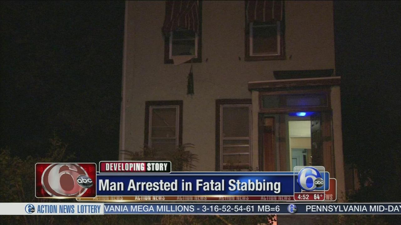 VIDEO: Police: Man arrested in fatal stabbing in East Mt. Airy