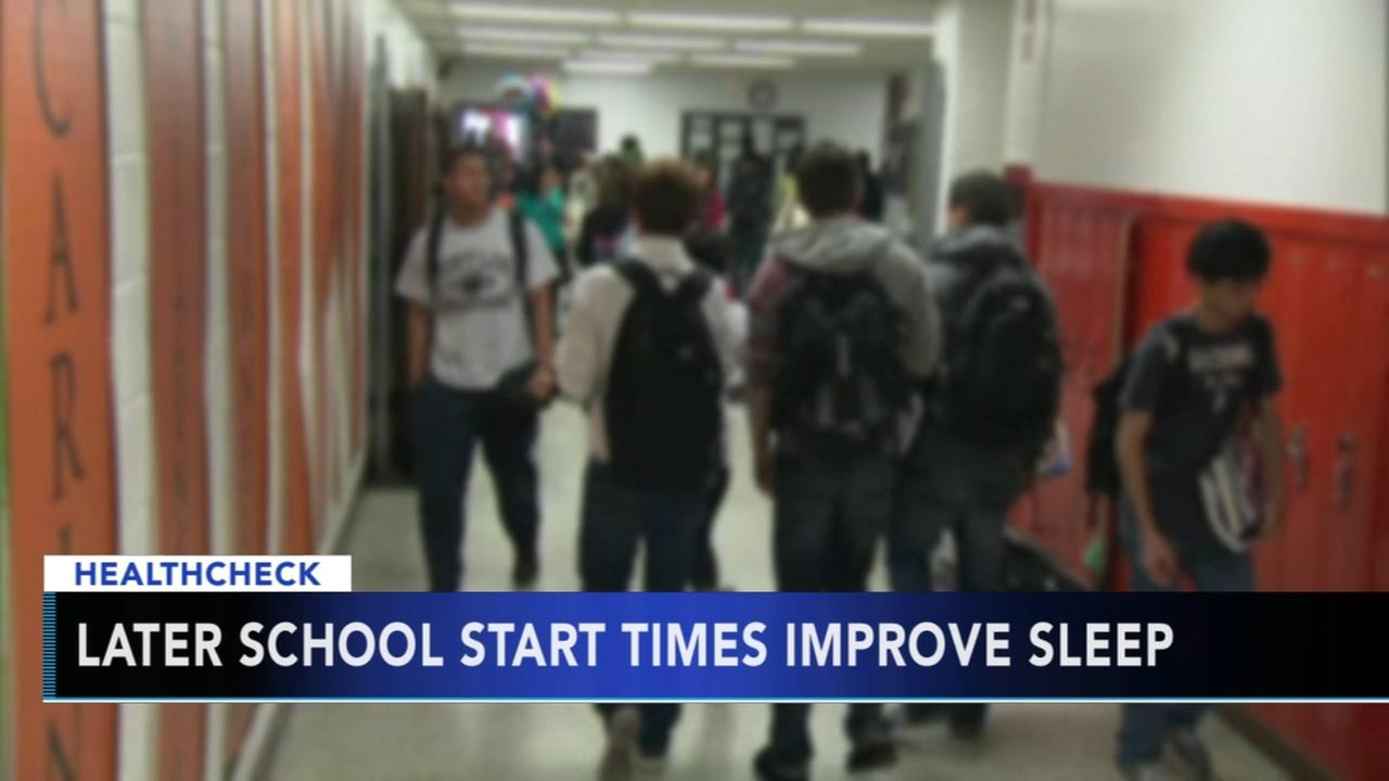 changing school starting times better sleep Why starting school at 8:30 may benefit public high school students updated march 23 these school districts are considering changing school start times from the traditional 8:00 am to a later 8:30 am many high school students do not get to sleep until 11 pm or later.