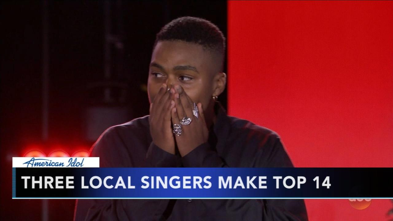 3 local contestants make Idol Top 14